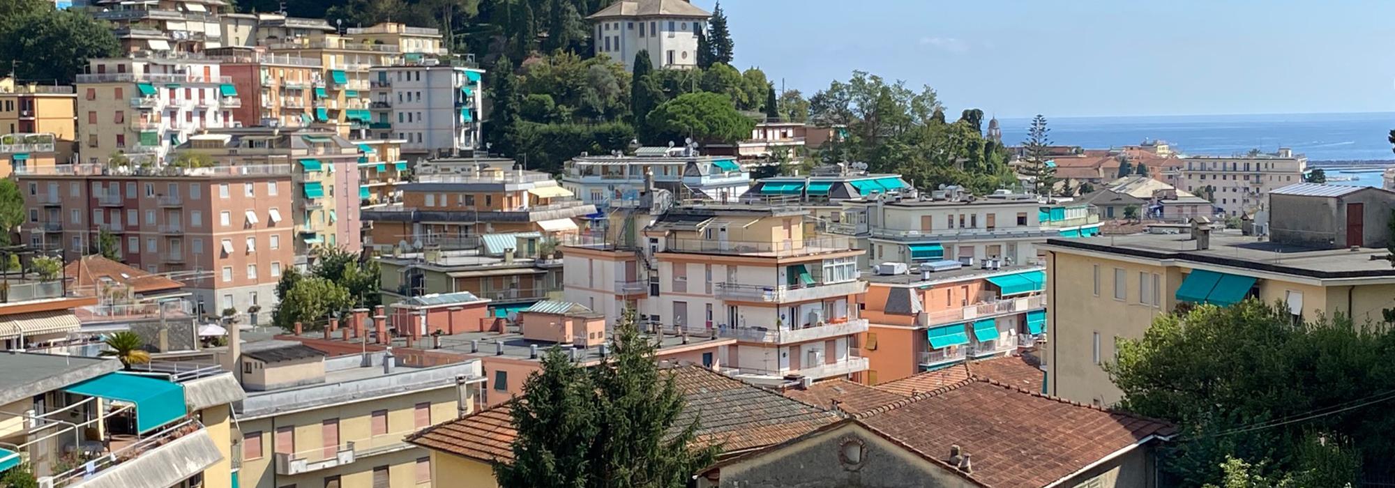 Rapallo Zona Funivia Appartamento con Terrazza