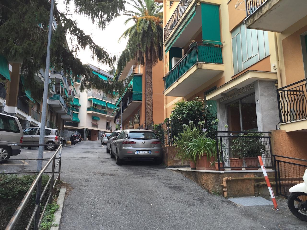 Rapallo Zona Funivia Appartamento Con Posto Auto